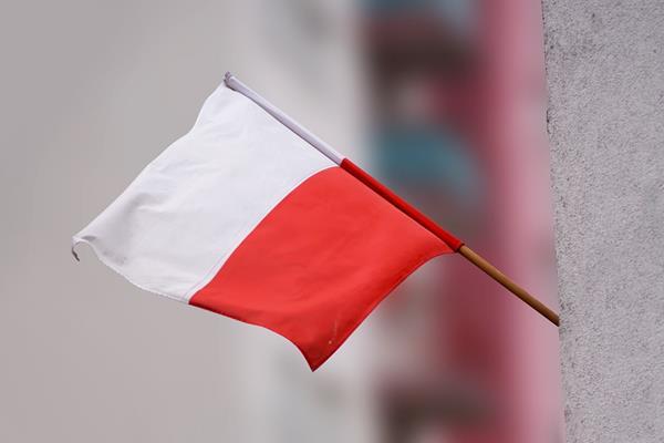 Uroczyste wprowadzenie flagi Wołowa