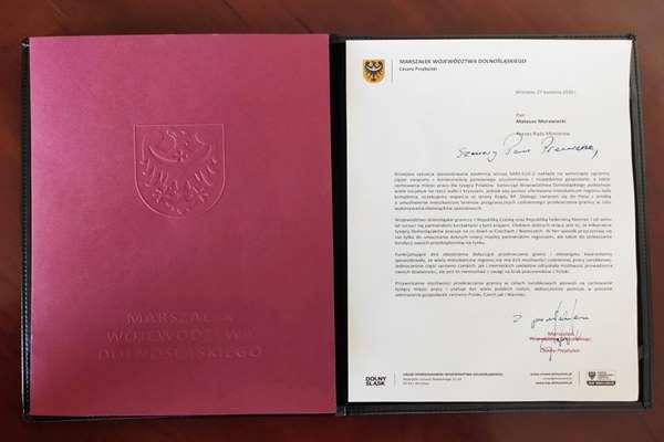 Apel Marszałka Województwa Dolnośląskiego do Premiera RP w sprawie otwarcia granic dla dla pracowników