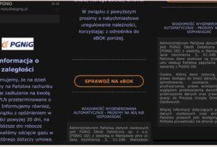 Uwaga na fałszywe smsy! PGNiG ponownie ostrzega klientów!
