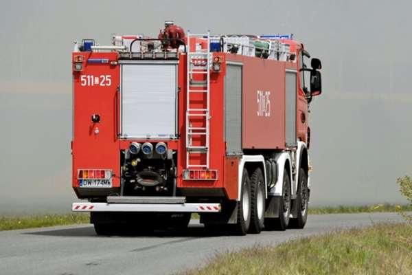 Dwa pożary w powiecie wołowskim
